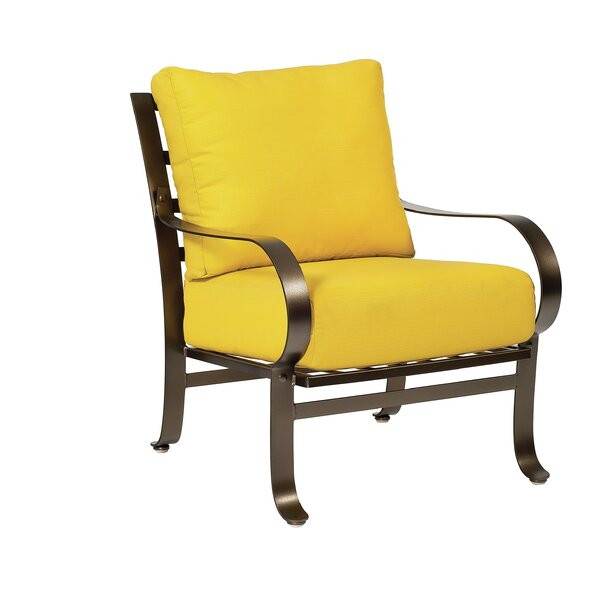 Cascade Patio Chair with Cushions by Woodard