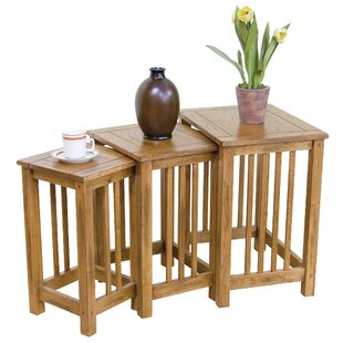 Deals Fresno 3 Piece Nesting Tables By Loon Peak