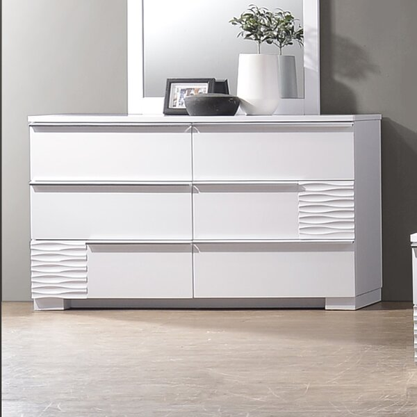 Ellisburg 6 Drawer Double Dresser by Latitude Run