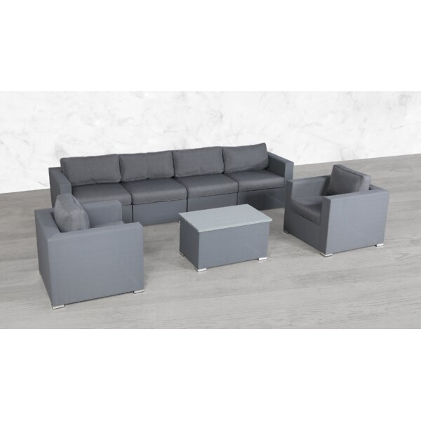 Frye Modular 7 Piece Sectional Seating Group with Cushions by Orren Ellis