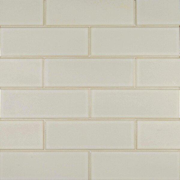 4 x 12 Glazed Ceramic Tile in Antique White by MSI
