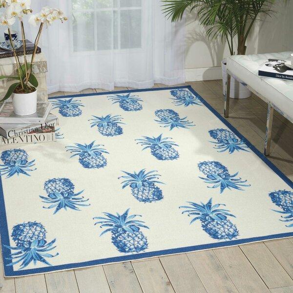 Sun n' Shade Ivory Indoor/Outdoor Area Rug by Waverly