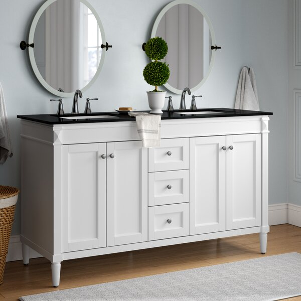 Millfield 59 Double Bathroom Vanity Set by Andover Mills