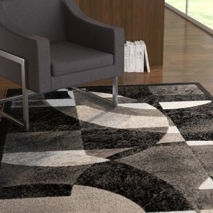 Comparison Grayson Black Area Rug By Ebern Designs