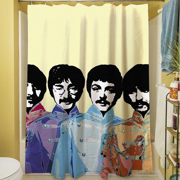 Sixties Legacy Shower Curtain by Manual Woodworkers & Weavers