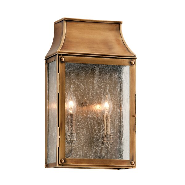 Bridgnorth 2-Light Outdoor Flush Mount by Canora Grey