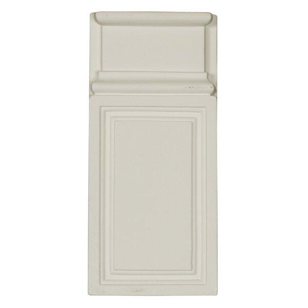 Classic 9.63 H x 4.38 W x 1.25 D Plint Block by Ekena Millwork
