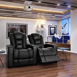 Solid Wood Home Theatre Lounger (Row Of 2)