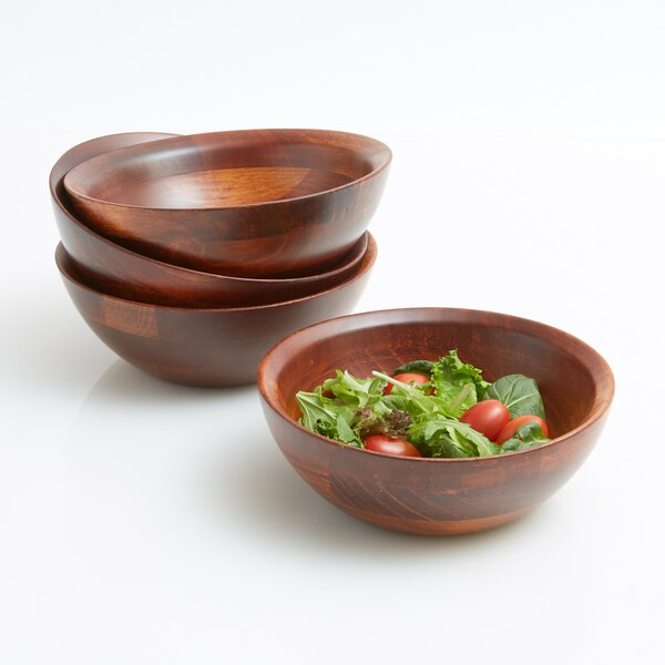 Penny Individual Salad Bowls Set (Set of 4) by Darby Home Co