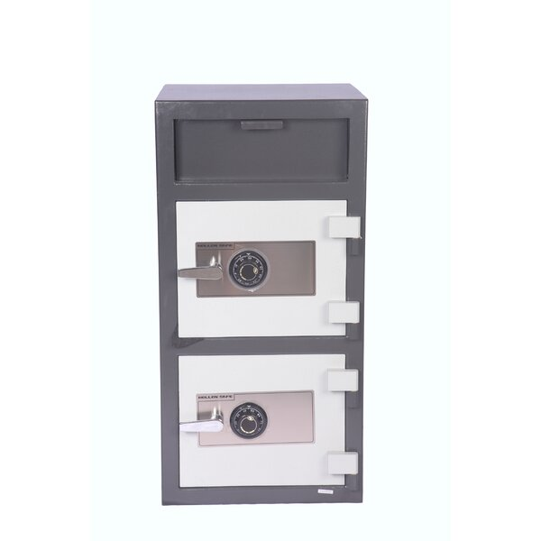 Double Door Dial Lock Depository Safe by Hollon Sa