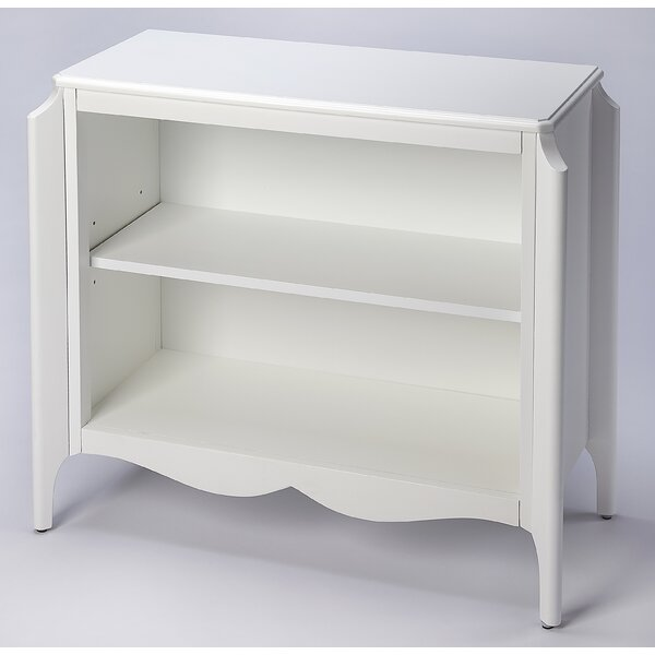 Rehm Glossy Standard Bookcase By Canora Grey