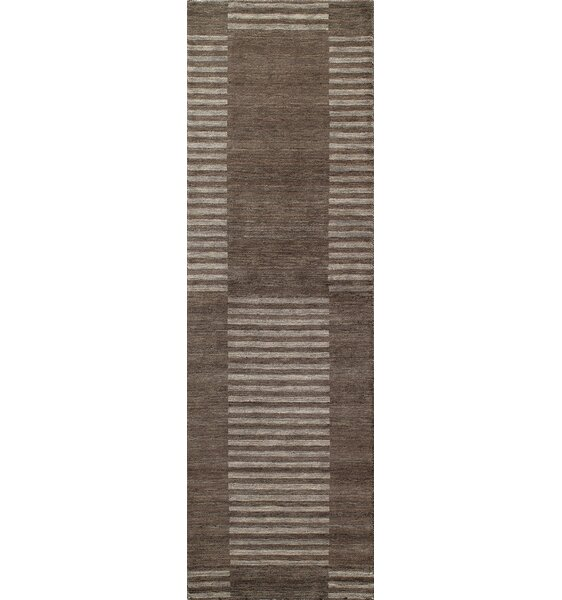 Donaghy Hand-Loomed Carbon Area Rug by Ebern Designs