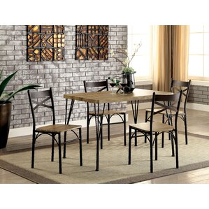 dana industrial 5 piece dining set. Interior Design Ideas. Home Design Ideas