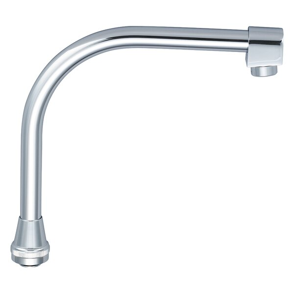 Swivel High Rise Spout with Aerator by Central Brass