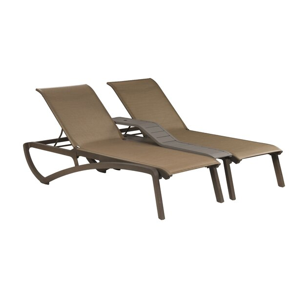 Neufeld Double Reclining Chaise Lounge by Charlton Home