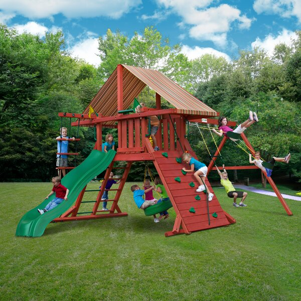 Sun Climber I Swing Set by Gorilla Playsets