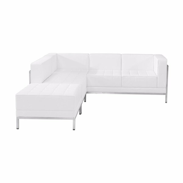Maximilian Reversible Modular Sectional with Ottoman by Orren Ellis