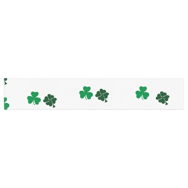 Shamrockin St. Patrick Table Runner by East Urban Home