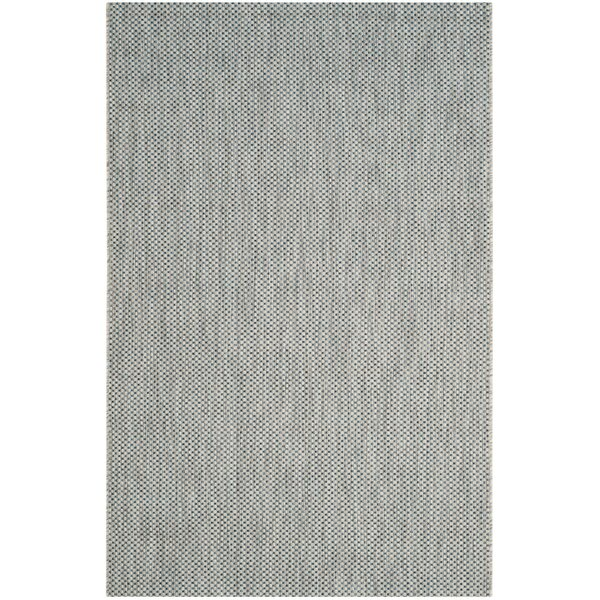 Brodie Gray / Navy Indoor/Outdoor Area Rug by Langley Street