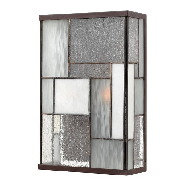 Yoshida 2-Light Outdoor Flush Mount by Bloomsbury Market