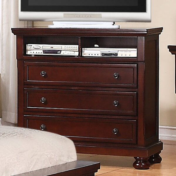 Lillianna 3 Drawer Media Chest by Darby Home Co