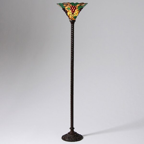 Grape 72 Torchiere Floor Lamp by Warehouse of Tiffany