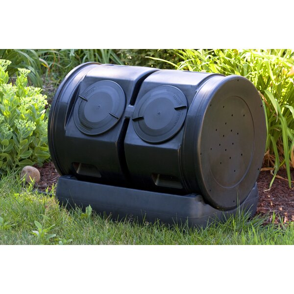 Compost Wizard 50 Gal. Tumbler Composter by Good Ideas