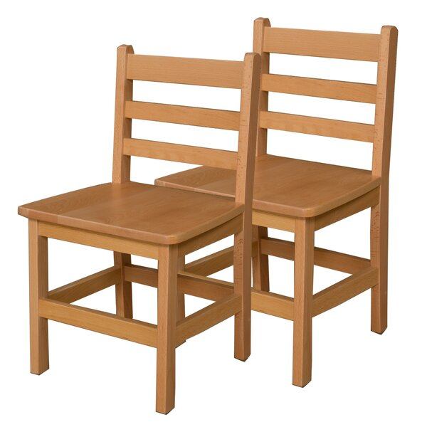 Solid Wood Classroom Chair (Set of 2) by Wood Designs