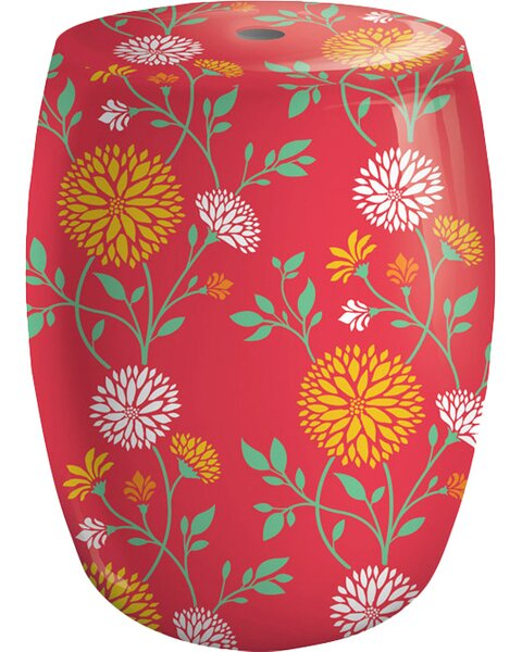 Chrysanthemum Garden Stool by Evergreen Flag & Garden