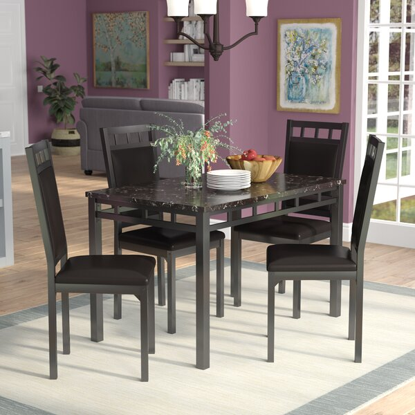 Bernice 5 Piece Dining Set by Andover Mills Andover Mills