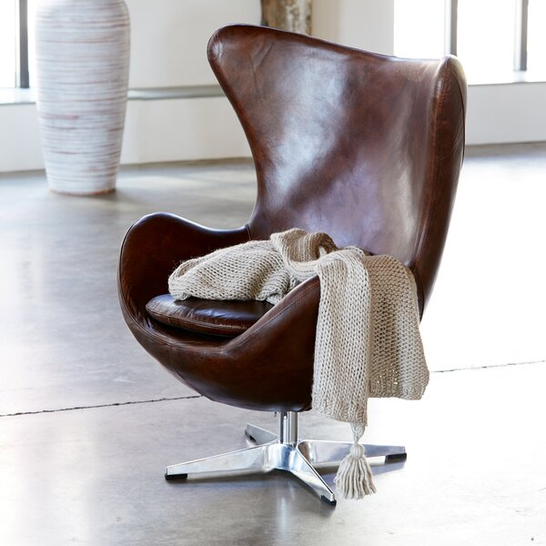 Cotner Swivel Balloon Chair by Brayden Studio