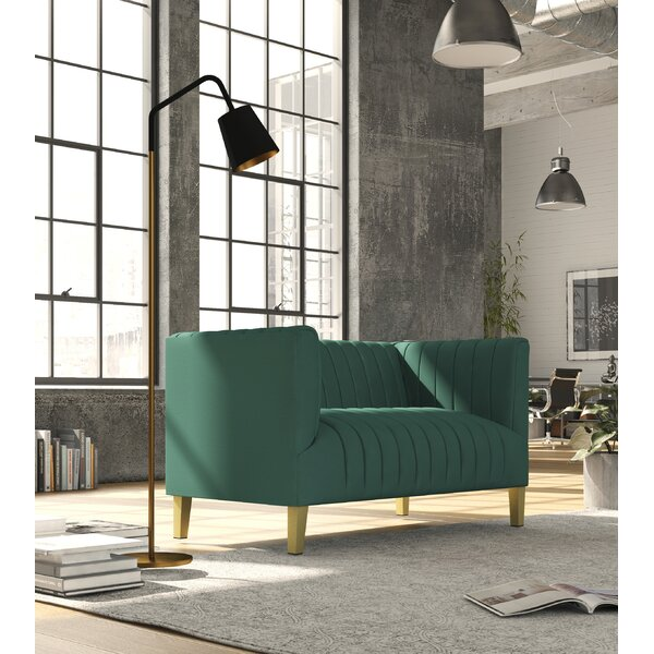 Discount Fruitvale Standard Loveseat by Everly Quinn by Everly Quinn