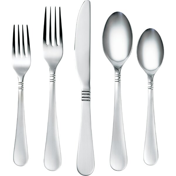Coordinates Sarah 20 Piece Flatware Set by Corelle