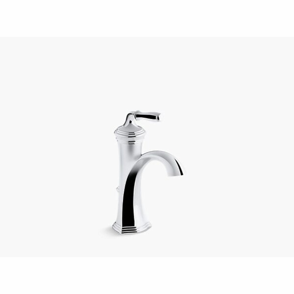 Devonshire Single Hole Bathroom Faucet with Drain Assembly