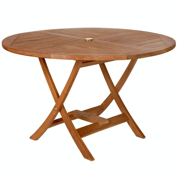 Humphrey Folding Teak Dining Table by Longshore Tides