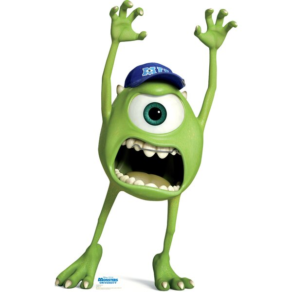 Mike Wazowski - Disney Pixar Monsters University Cardboard Stand-Up by Advanced Graphics