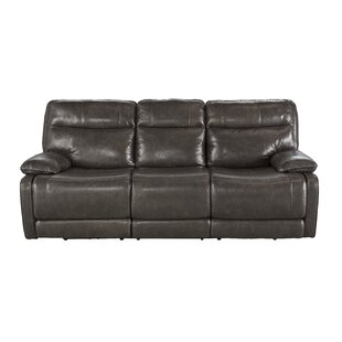 Gigi Leather Reclining Sofa by Trent Austin Design