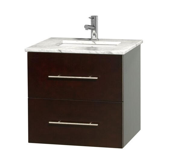 Centra 24 Single Bathroom Vanity Set by Wyndham Collection