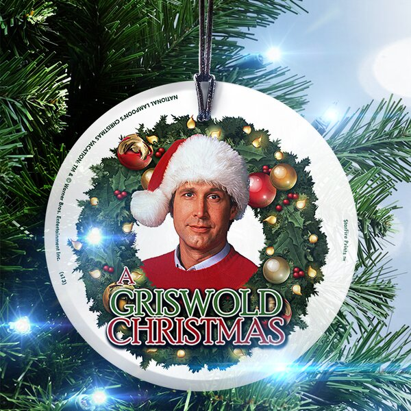 Trend Setters National Lampoons Christmas Vacation Griswold Christmas Hanging Shaped Ornament Wayfair