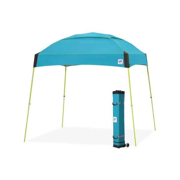 Dome® 10 Ft. W x 10 Ft. D Steel Pop-Up Canopy by E-Z UP