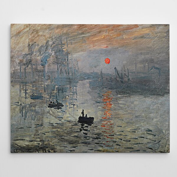 Impression Sunrise By Claude Monet Print By Wexford Home.