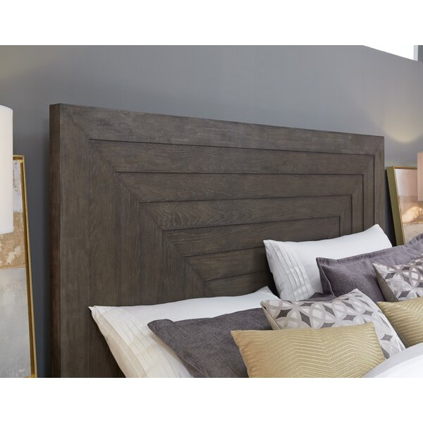 Seevers Panel Headboard by Union Rustic