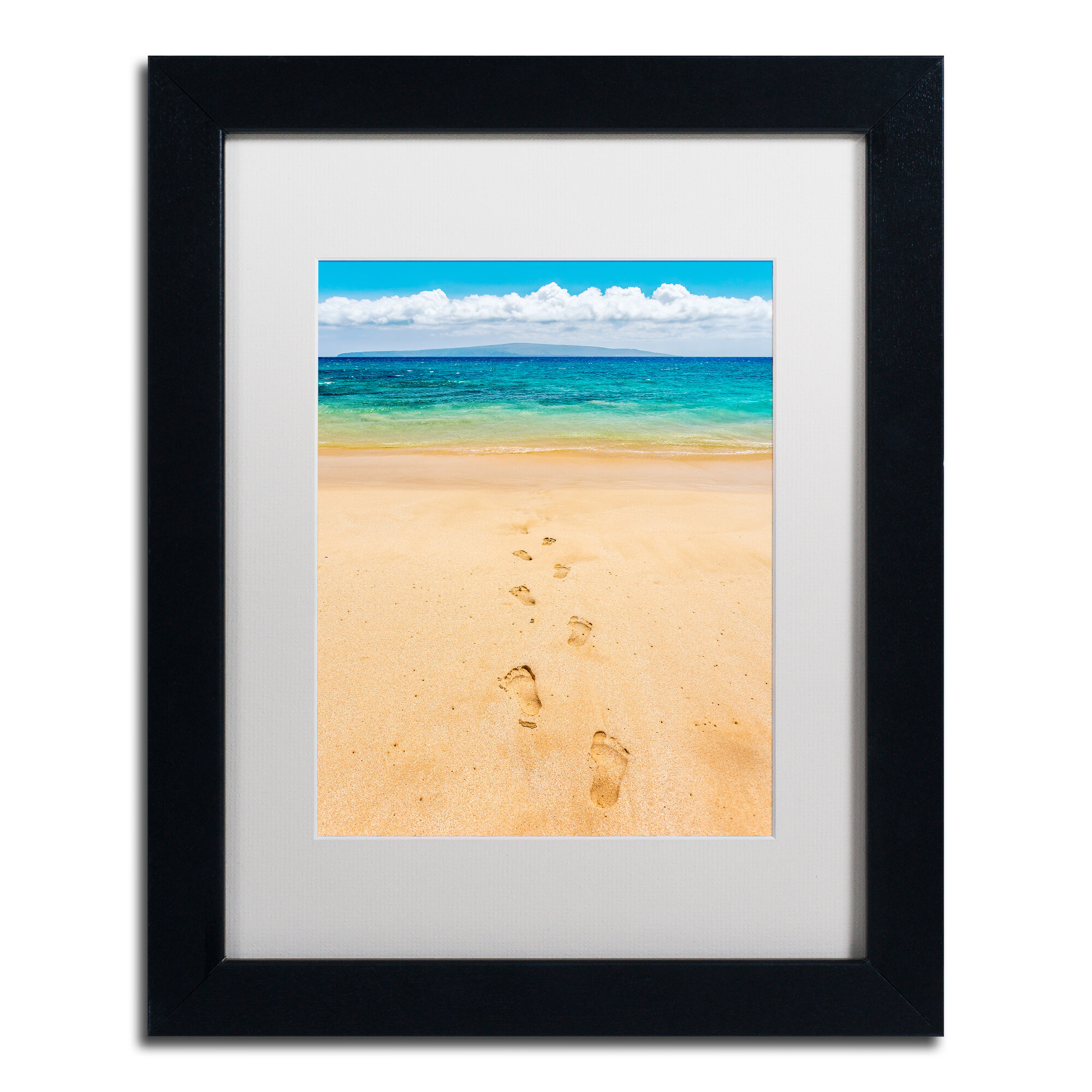 Fine Footprints In The Sand Wall Decor Gift - The Wall Art ...