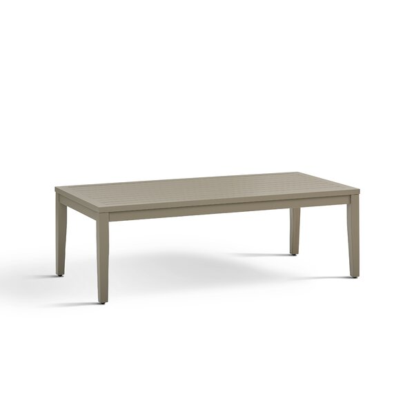 Rhiannon Aluminum Coffee Table by South Sea Rattan