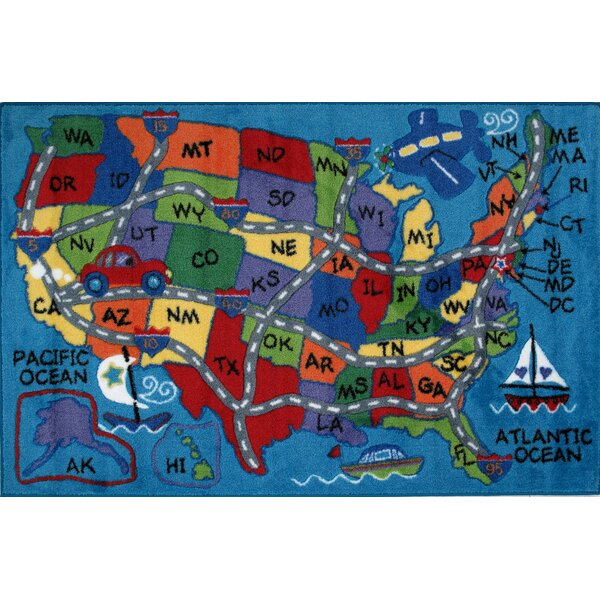 Road Tripper Rug by Birch Lane Kids™