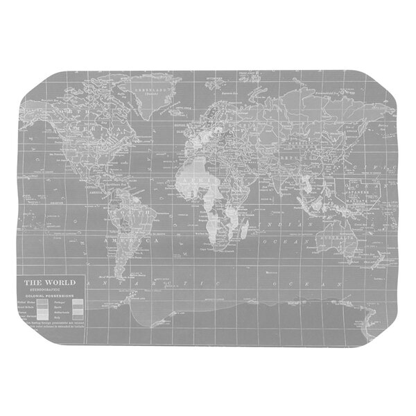 The Olde World Placemat by East Urban Home