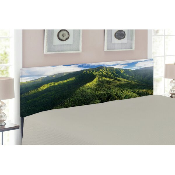 Mountain Queen Upholstered Panel Headboard by East Urban Home
