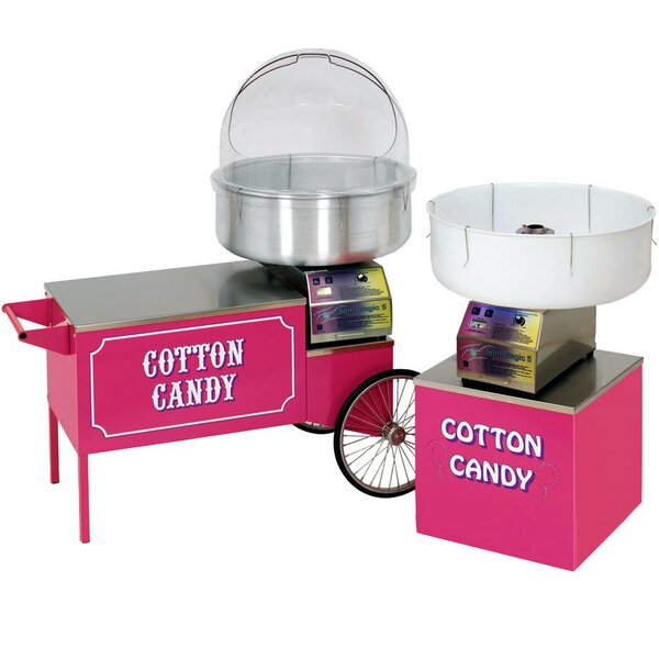 Large Cotton Candy Cart By Paragon International.