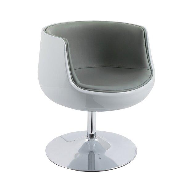 Deckert Swivel Barrel Chair by Orren Ellis