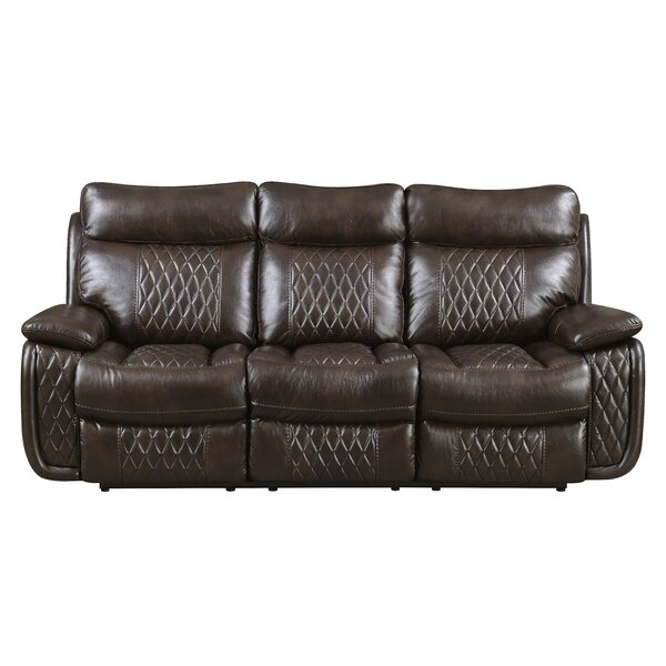 Courtois Reclining Sofa by Winston Porter